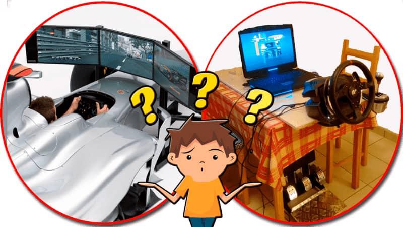 Postazioni di guida F1: simulazione o performance?